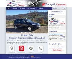 Un nouveau site internet pour les Taxis Druguet